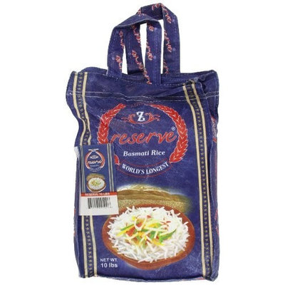 Zafrani Zafarani Reserve Basmathi Rice 10-Pounds