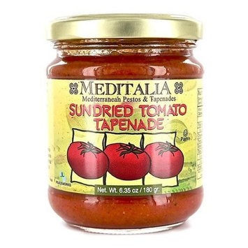 Meditalia Tapenade Sun Dried Tomato Spread, 6.35 Ounce -- 6 per case.