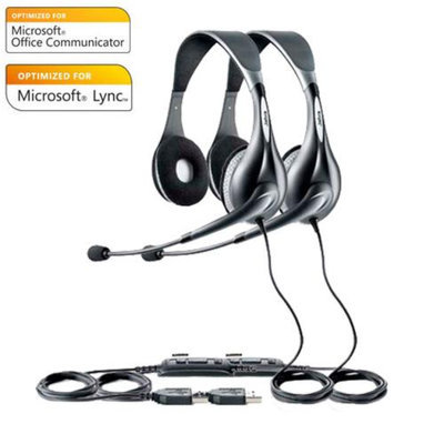 Jabra Voice 150 Duo MS (2-Pack) Microsoft Optimized Headset