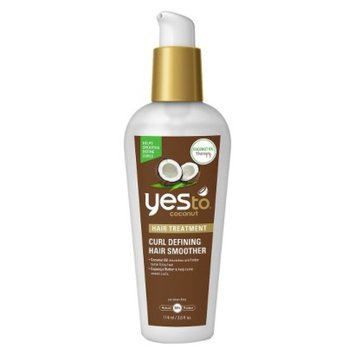 Yes To Coconut Curl Defining Hair Smoother Target Exclusive - 4 oz