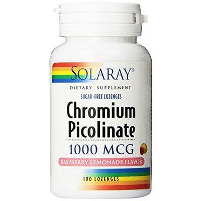 Solaray Chromium Picolinate Lozenges 1000mcg, 100 Count