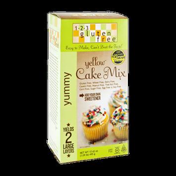 1-2-3 Gluten Free Yummy Yellow Cake Mix