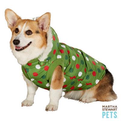 Martha Stewart PetsA Hooded Puffer Vest