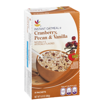 Ahold Instant Oatmeal Cranberry, Pecan & Vanilla - 8 CT