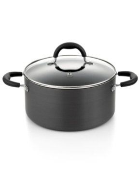 Martha Stewart Collection Hard Anodized 5.5 Qt. Covered Chili Pot
