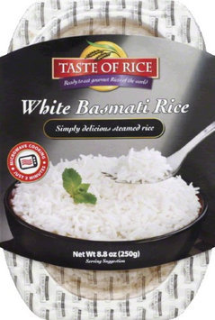 Taste Of Rice BPC1025277 Taste Of Rice White Basmati Rice - 6x8.8 OZ