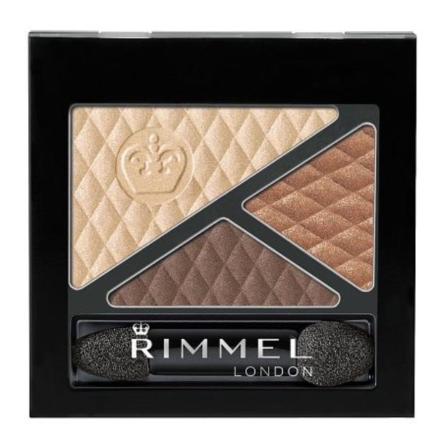 Rimmel Glam' Eyes Trio Eye Shadow, Summer Chic, .15 oz