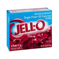 Jell-O Cherry Flavor Sugar Free Low Calorie Dessert