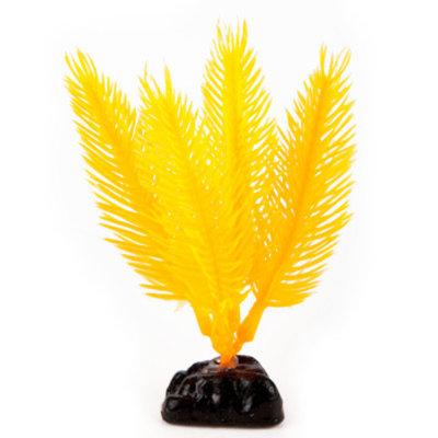 Top Fin Mini Yellow Hair Artifical Aquarium Plant
