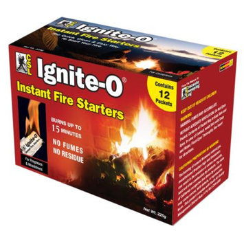 CSL Ignite-O Fire Starter Packets, 12 ea