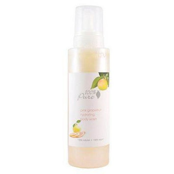 100% Pure Hydrating Body Wash - Pink Grapefruit Bath And Shower Gels