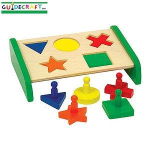 Guidecraft Primary Puzzle Board