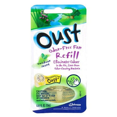 Oust Odor-Free Fan Refill, Outdoor Scent, 1 refill