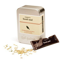 Tsp Spices Organic Fennel Seed, 12 One-teaspoon Packets, 8-Ounce Tins (Pack of 3)