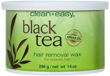 Clean & Easy Black Tea w/Argan Oil Wax - 14 oz