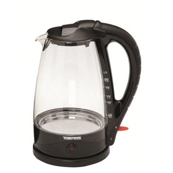 Toastess TOASTESS TGK486 CORDLESS GLASS KETTLE 1.7QT