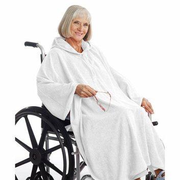 Silvert's Women's Terry Shower Cape