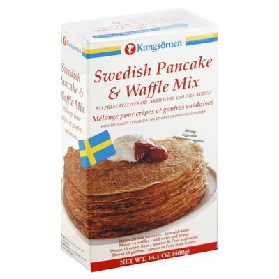 Kungsomen Kungsornen Swedish Pancake and Waffle Mix, 14.1 Ounce