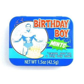 Boston America Birthday Boy Mints - 'cause you're a big boy now!