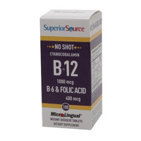 Superior Source No Shot B6/B12/Folic Acid