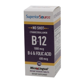 Superior Source No Shot B6/B12/Folic Acid