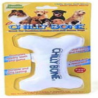 MultiPet Canvas Chilly Pup Bone Dog Toy