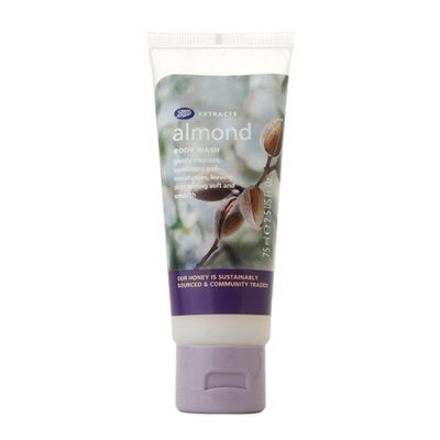 Boots Extracts Almond Body Wash - 2.5 oz