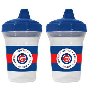 Baby Fanatic MLB Chicago Cubs 2-Pack Sippy Cup