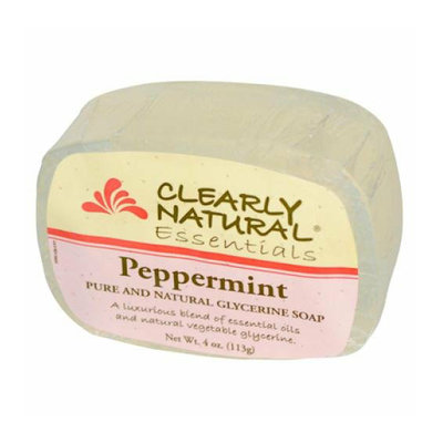 Clearly Naturals Clearly Natural Glycerine Bar Soap Peppermint 4 oz
