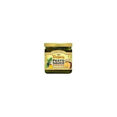 Victoria Sauce, Pesto , 7.5 oz (pack of 12 )