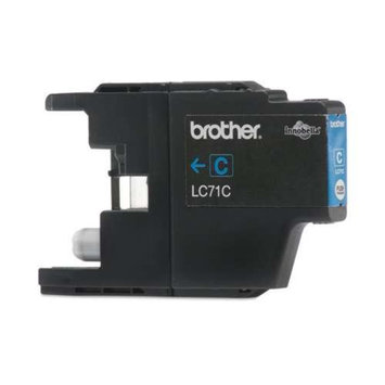 Brother INNOBELLA LC71 C Standard Cyan Ink - yields up to 300 pages