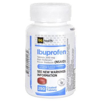 DG Health Ibuprofen Coated Tablets - 250 ct