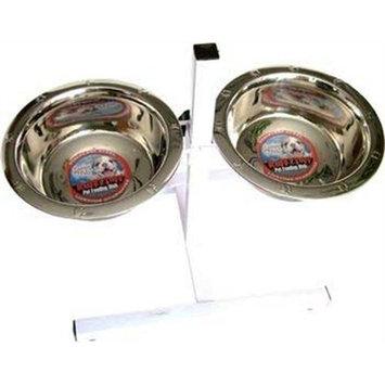 Loving Pets Adjustable Double Diner Dog Bowl
