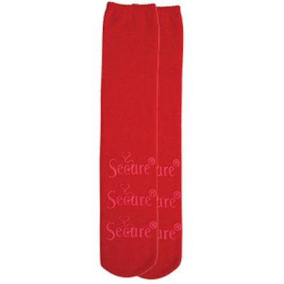 Secure SOCKS-1R Non-Slip Socks Red