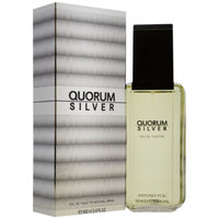Antonio Puig Quorum Silver Eau De Toilette Spray