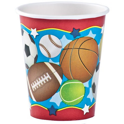 Hanna K Signature Hanna K. Signature 93180 9 Oz Birthday Sports Hot/Cold Cup - 864 Per Case