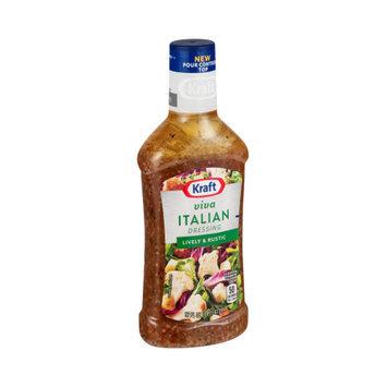 Kraft Salad Dressing Seven Seas Viva Italian Anything Dressing, 16 FL OZ (Pack of 6)