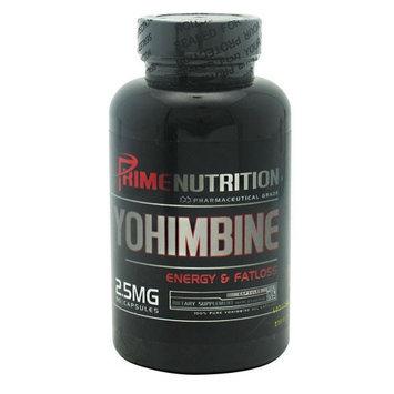 Prime Nutrition Pharmaceutical Grade Yohimbine - 90 Capsules