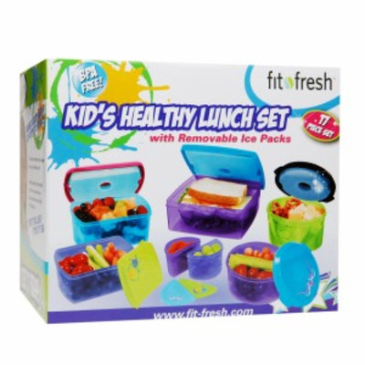 Fit & Fresh 17 pc Kids Value Set, 1 ea