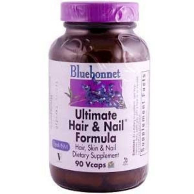 Ultimate Hair & Nail Formula Bluebonnet 90 VCaps