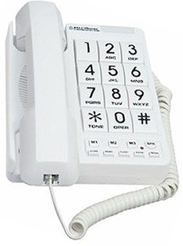 Northwestern Bell 20600 Big Button Corded Phone