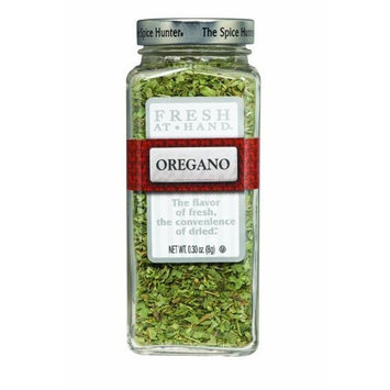 The Spice Hunter Fresh at Hand Oregano, 0.3-Ounce Jars (Pack of 6)