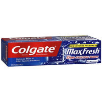 Colgate® MaxFresh® INTENSE FRESHNESS with Germ Fighting Strips Toothpaste