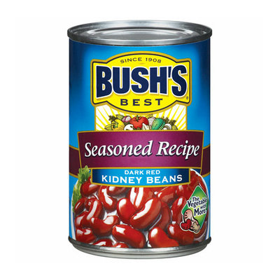 Bush's Best Seasoned Recipe Dark Red Kidney Beans