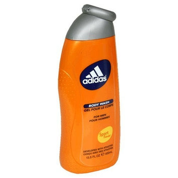 Adidas Body Wash for Men, Sport Fever, 13.5-Ounce Bottles