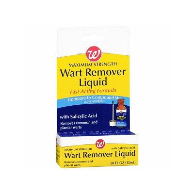 Walgreens Wart Remover Liquid