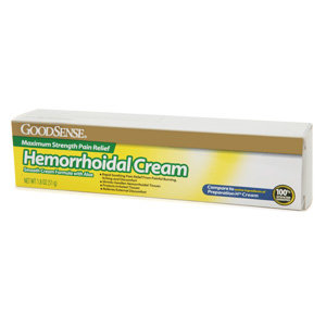 Good Sense Hemorrhoidal Cream