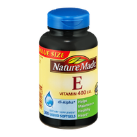 Nature Made E Vitamin 400 IU Liquid Softgels - 300 CT