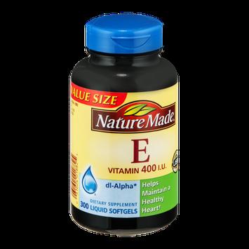 Nature Made E Vitamin 400 IU Liquid Softgels - 300 CT