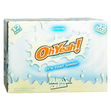 ISS OhYeah! Nutritional Shake 12 Pack Vanilla Creme